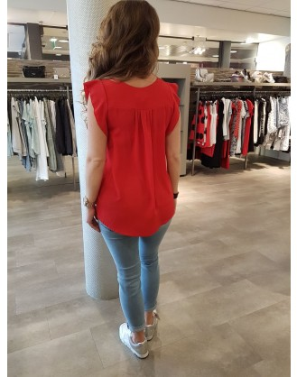 TOP STRETCH 7646 Red